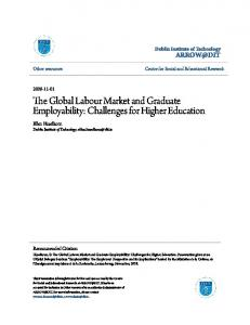 The Global Labour Market and Graduate ...