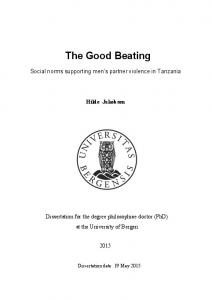 The Good Beating - Core