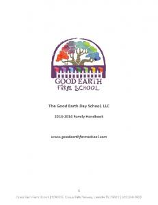 The Good Earth Day School, LLC - Good Earth Farm School