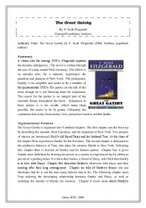 The Great Gatsby - Novelinks.org