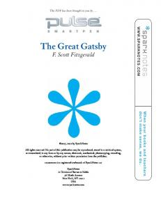 The Great Gatsby pdf - SparkNotes