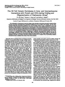The H4 Tail Domain Participates in Intra- and Internucleosome ...