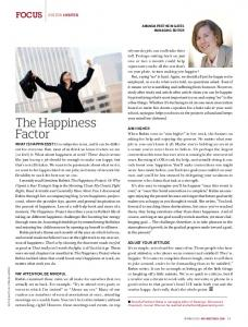 The Happiness Factor - Amanda Fretheim Gates