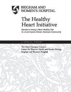 The Healthy Heart Initiative