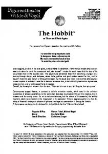 The Hobbit - Figurentheater Wilde & Vogel