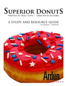 the home of Superior donuts - Arden Theatre Company