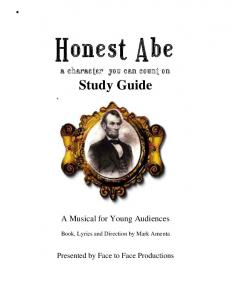 the honest abe study guide