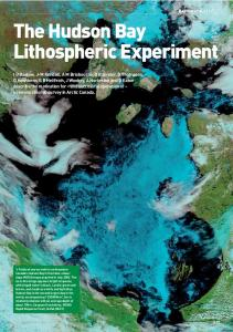 The Hudson Bay Lithospheric Experiment