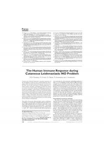 The Human Immune Response during Cutaneous ... - Cell Press