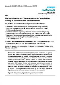 The Identification and Characterization of ... - Semantic Scholar