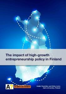 The impact of high-growth entrepreneurship policy in ...