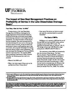 The Impact of New Best Management Practices on ... - CiteSeerX