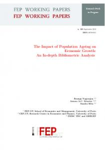 The Impact of Population Ageing on Economic Growth - FEP - Working
