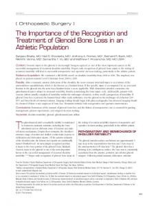 The Importance of the Recognition and Treatment
