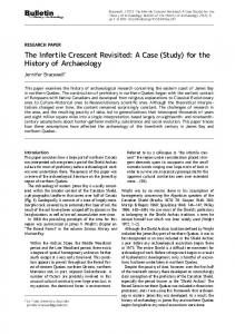 The Infertile Crescent Revisited: A Case (Study) - Bulletin of the