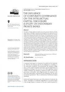 the influence of corporate governance on the