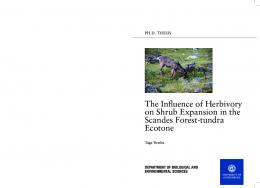 The Influence of Herbivory on Shrub Expansion in the