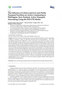The Influence of Urban Land-Use and Public Transport ... - MDPI