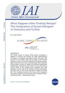 The Integration of Syrian Refugees in Germany and Turkey