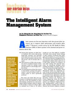 The intelligent alarm management system - IEEE Software - IEEE Xplore
