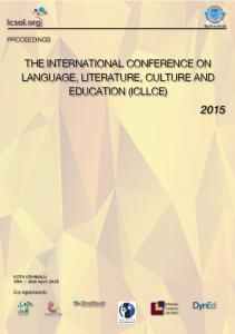 the international conference on language, literature