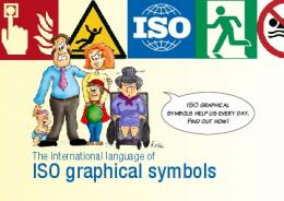 The international language of ISO graphical symbols