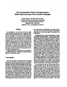 The Interoperability Problem: Bringing together ... - Semantic Scholar