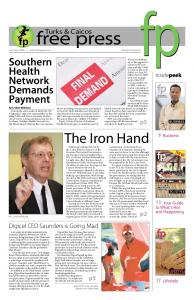 The Iron Hand - fp Turks and Caicos