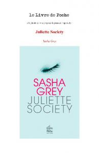 The Juliette Society - Le Livre de Poche
