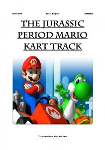 THE JURASSIC PERIOD MARIO KART TRACK - Oliver Cooke