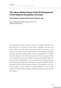 The Labour Market Impact of the EU Enlargement - Semantic Scholar