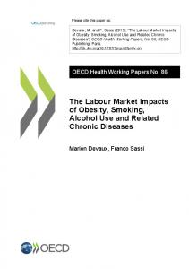 The Labour Market Impacts of Obesity, Smoking ... - OECD iLibrary