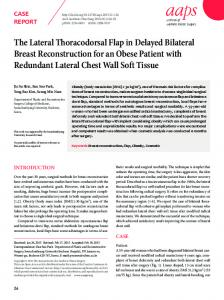 The Lateral Thoracodorsal Flap in Delayed ... - KoreaMed Synapse