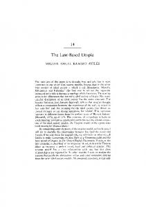 The Law-Based Utopia The Law-Based Utopia - Core