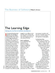 The Learning Edge - EECS @ UMich