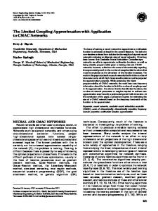 The Limited Coupling Approximation with ... - Semantic Scholar