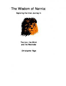 The Lion the Witch and the Wardrobe (C.S. Lewis) Study Guide