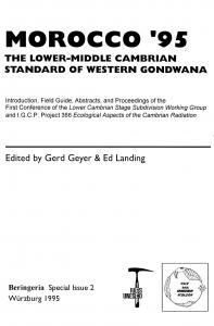 the lower-middle cambrian standard of western ...