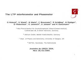 The LTP interferometer and Phasemeter