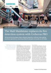 The Mall Maidstone replaces its fire detection system with Cerberus ...