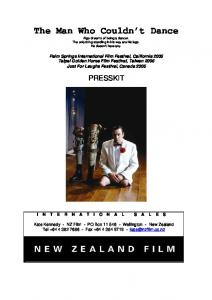The Man Who Couldn't Dance - New Zealand Film Commission