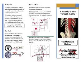 The McKenzie Method - Agility Physical Therapy