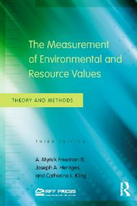 The Measurement of Environmental and Resource