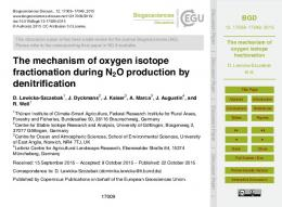The mechanism of oxygen isotope fractionation