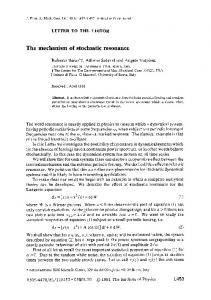 The mechanism of stochastic resonance - Semantic Scholar