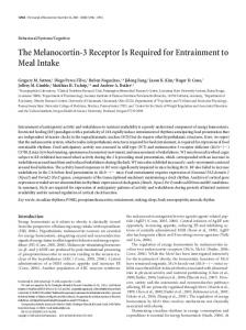 The Melanocortin-3 Receptor Is Required for ... - Semantic Scholar