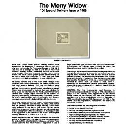 The Merry Widow Title Page