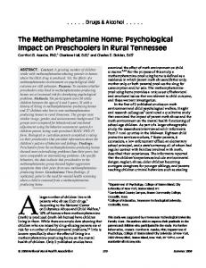 The Methamphetamine Home: Psychological ... - Wiley Online Library