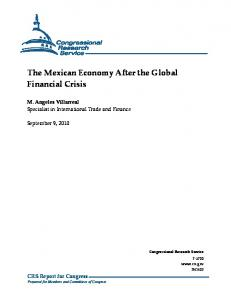 The Mexican Economy After the Global Financial Crisis - DTIC