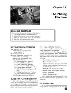 The Milling Machine - NEMES Home Page